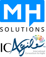 MH Solutions - ICAgile logo